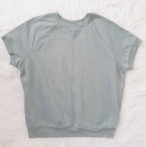 Sleeveless Retro Sweatshirt